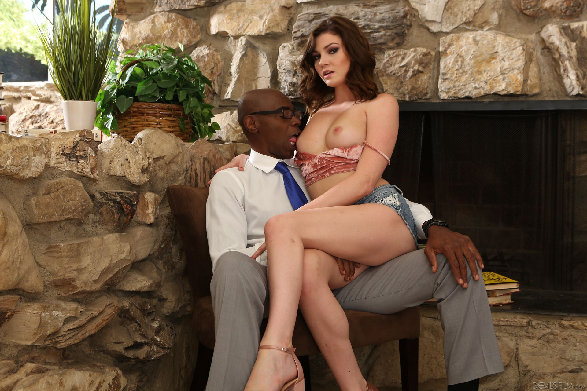 Devils Film 'My New Black Stepdaddy 22' starring Jessica Rex (photo 1)