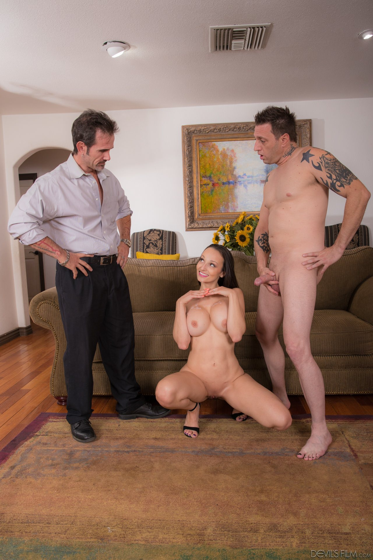 Blowing And Fucking The Landlord For The Rent
