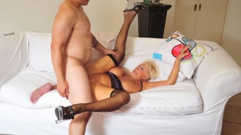 Mandi McGraw in 'Horny Grannies Love to Fuck 9'